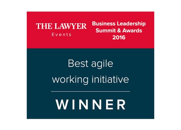 The Lawyer Business Awards winner