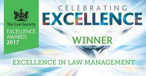 Law Society Excellence awards winner